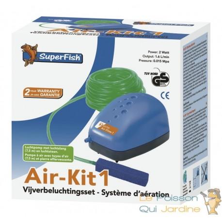 Pack Aération 100 pour aquariums jusqu'à 100 litres