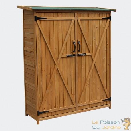cabane de jardin 140 cm pour rangement 051061 aqua occaz. Black Bedroom Furniture Sets. Home Design Ideas