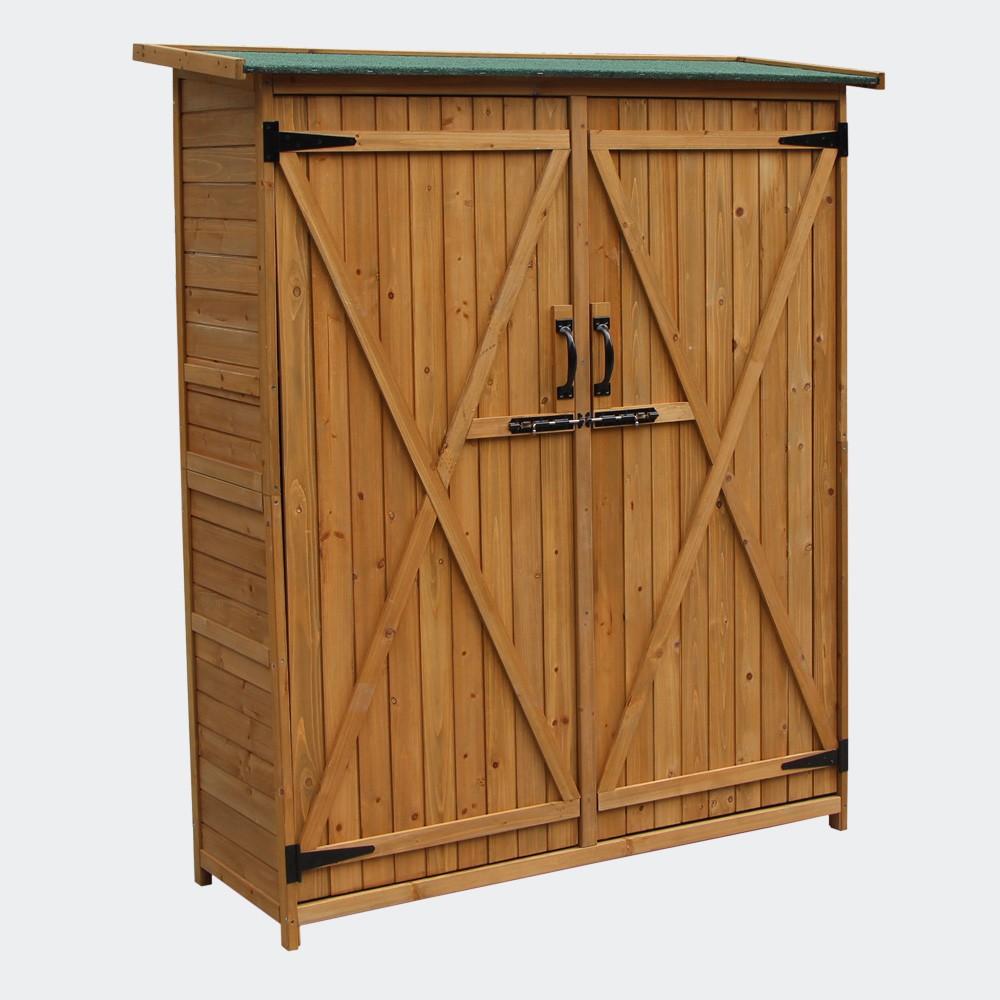 Cabane de jardin 140 cm pour rangement - 051061