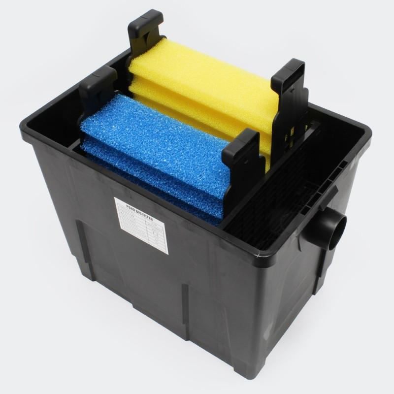 Kit de filtration avec uv pour bassin de jardin 4 m for Filtration de bassin