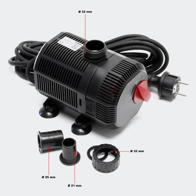 Kit de filtration avec uv pour bassin de jardin 4 m for Filtre uv pour bassin exterieur
