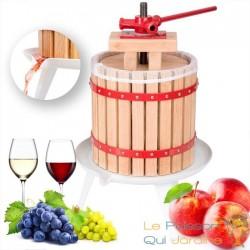 Presse fruit en bois 6 litres