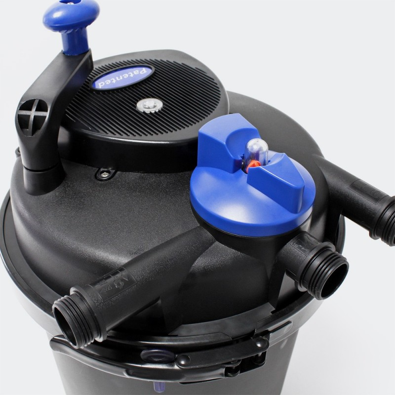 Filtre bassins de jardin sous pression uv 11w jusqu 39 8000 for Filtre pour bassin de jardin