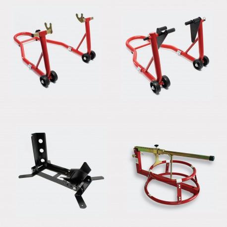pack lot b quilles d 39 atelier d monte pneu cale roue aqua occaz. Black Bedroom Furniture Sets. Home Design Ideas