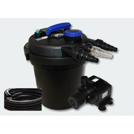kit filtre pression complet pour bassins de 4000 litres aqua occaz. Black Bedroom Furniture Sets. Home Design Ideas