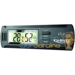 Thermomètre Hygromètre électronique pour aquarium et terrarium