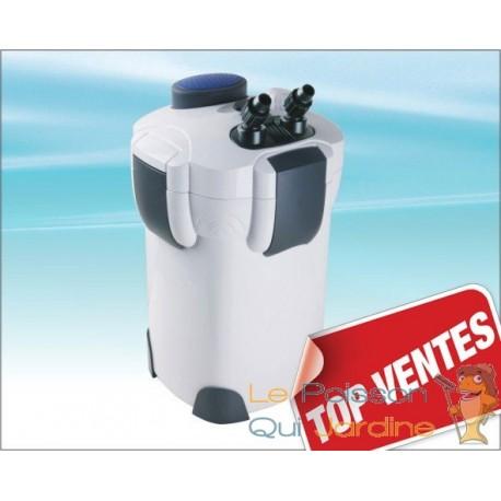 Filtre externe 2000 l h pour aquarium avec accessoires for Filtre exterieur pour aquarium