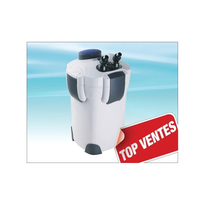Filtre externe 2000 l h pour aquarium avec acessoires for Pompe externe bassin
