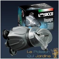 Pompe de brassage Sicce Voyager 1 de  2300 l/h pour aquariums