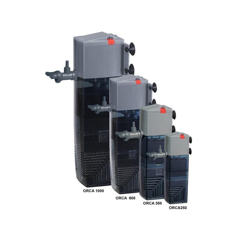 Pompe filtre int rieur pour aquariums de 250 500 litres for Filtre interieur aquarium