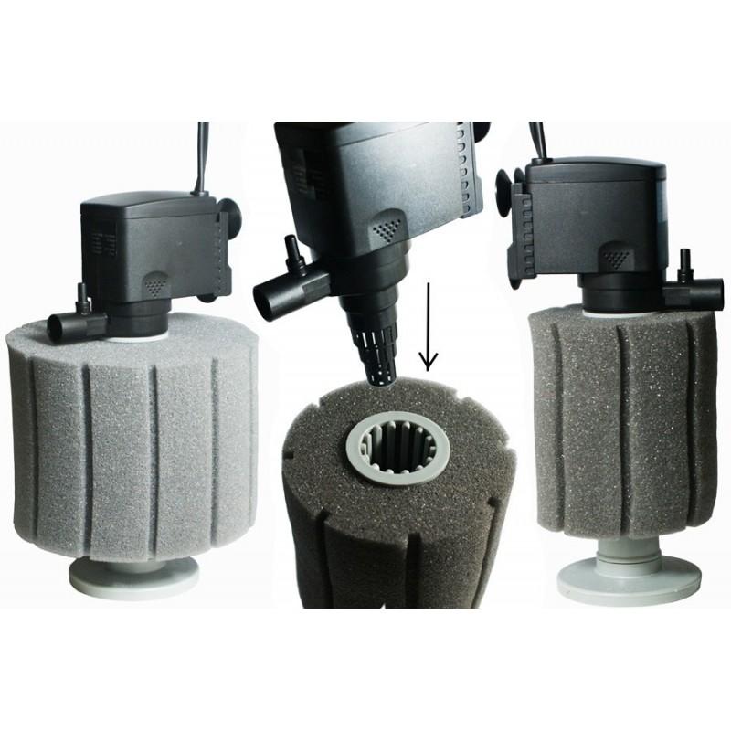 filtre 224 air sur mousse e 103 pour aquarium de 100 125 litres aqua occaz