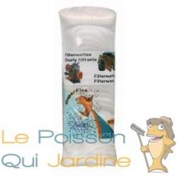 Ouate - Perlon blanc 500gr pour filtre d'aquarium