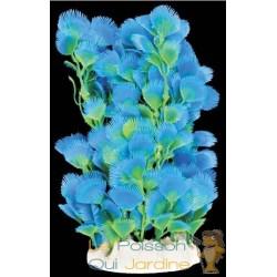 Plante plastique bleue pour aquarium : 20cm