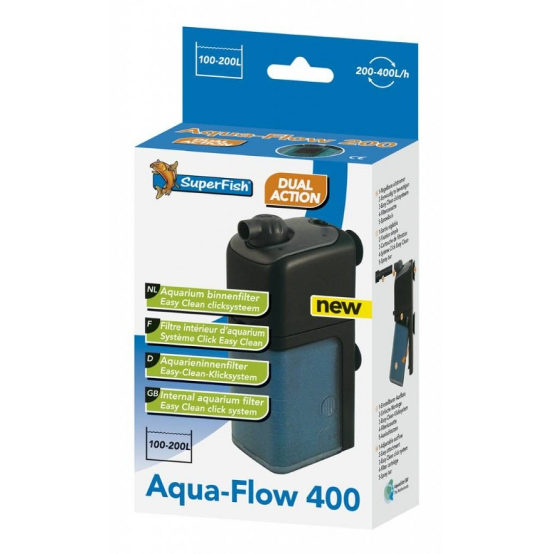 filtre interne 800 l h pour aquarium superfish aqua flow 400 aqua occaz