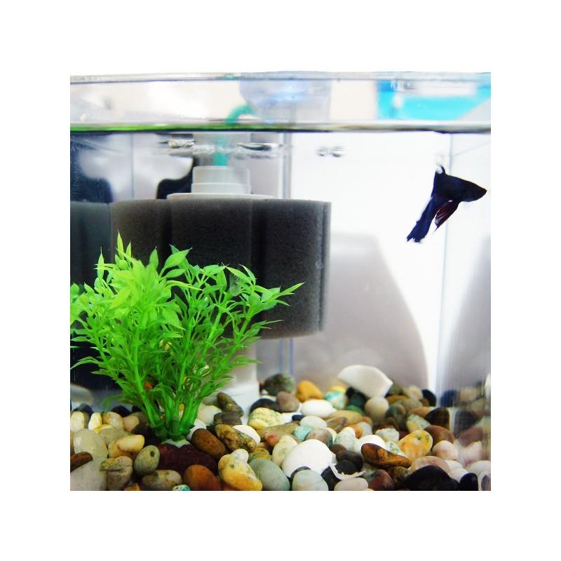 filtre 224 air sur mousse e 102 pour aquarium de 25 75 litres aqua occaz