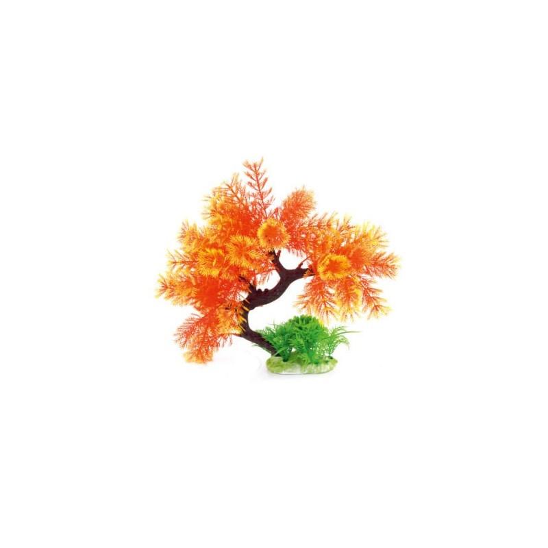 Arbre plante plastique orange 25 cm superbe aqua occaz for Plante orange