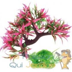 Arbre plante plastique mauve pétales : 25 cm SUPERBE