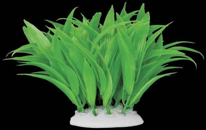 plante plastique verte longues feuilles pour aquarium. Black Bedroom Furniture Sets. Home Design Ideas