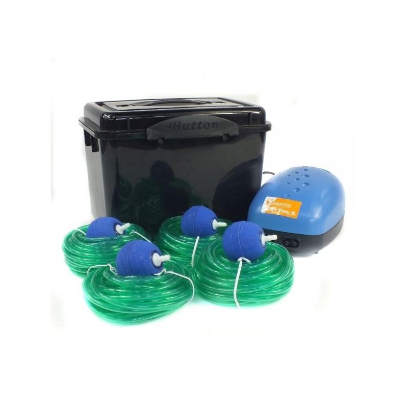 Set a ration bassin de jardin de 500 1000 litres ab4 for Pompe bassin 500 litres