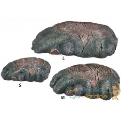 Pierre - rocher 15 cm chauffant pour terrariums