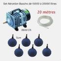 - Kit Aération et oxygénation complet pour bassin de jardin