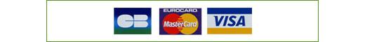Cartse bancaires acceptées sur Aqua Occaz pour les paiements sécurisés par cic et crédit mutuel